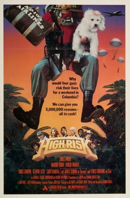 High Risk movie poster (1981) poster MOV_3427c454