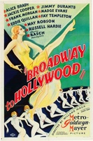 Broadway to Hollywood movie poster (1933) picture MOV_342ca6ed