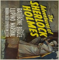 The Adventures of Sherlock Holmes movie poster (1939) picture MOV_3431cf52