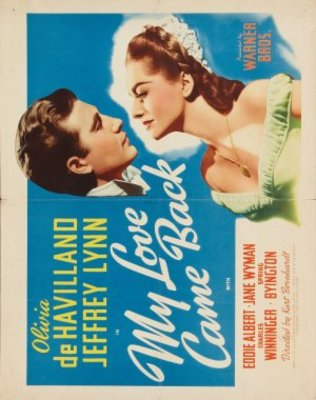 My Love Came Back movie poster (1940) poster MOV_34352b74