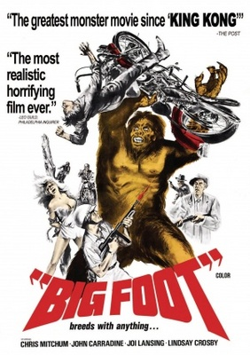 Bigfoot movie poster (1970) poster MOV_3439f39d