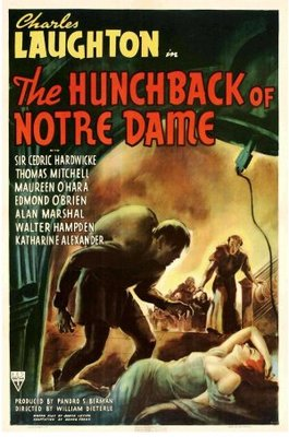 The Hunchback of Notre Dame movie poster (1939) poster MOV_345abce4
