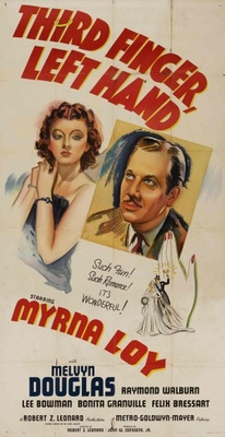 Third Finger, Left Hand movie poster (1940) poster MOV_347a34f3