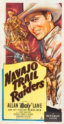 Navajo Trail Raiders movie poster (1949) poster MOV_34832c6a