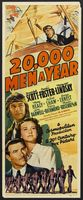 20,000 Men a Year movie poster (1939) picture MOV_348381e8