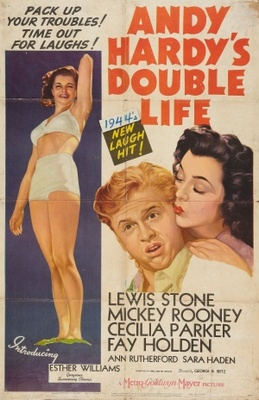 Andy Hardy's Double Life movie poster (1942) poster MOV_34870fcc