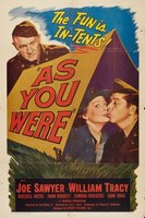 As You Were movie poster (1951) picture MOV_3495048f
