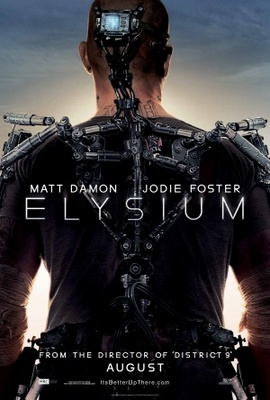 Elysium movie poster (2013) poster MOV_34992bea