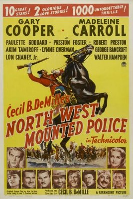 North West Mounted Police movie poster (1940) poster MOV_34a5f532