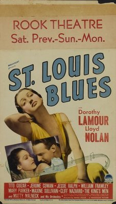 St. Louis Blues movie poster (1958) poster MOV_34b4004c