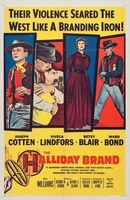 The Halliday Brand movie poster (1957) picture MOV_34c5dd17