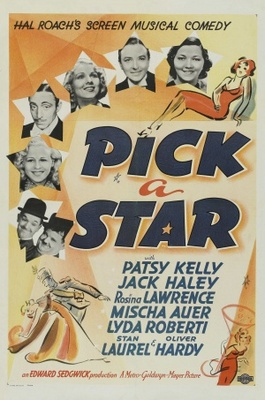 Pick a Star movie poster (1937) poster MOV_34c662ae