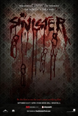 Sinister movie poster (2012) poster MOV_34cd67cd