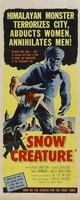 The Snow Creature movie poster (1954) picture MOV_f7ad4c22