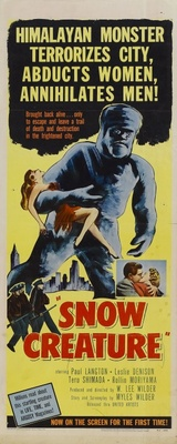 The Snow Creature movie poster (1954) poster MOV_34f72fb0