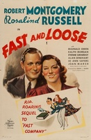 Fast and Loose movie poster (1939) picture MOV_3501f805