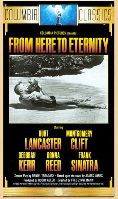 From Here to Eternity movie poster (1953) poster MOV_3504fe86