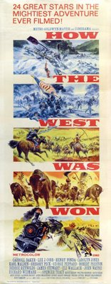 How the West Was Won movie poster (1962) poster MOV_3509a6b5
