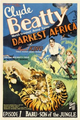 Darkest Africa movie poster (1936) poster MOV_3532c85e