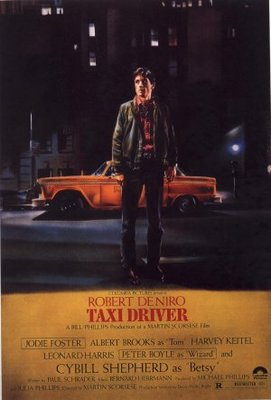 Taxi Driver movie poster (1976) poster MOV_353435a3