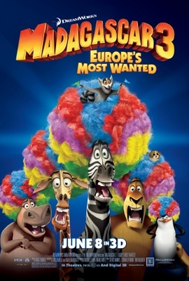 Madagascar 3: Europe's Most Wanted movie poster (2012) poster MOV_35347856
