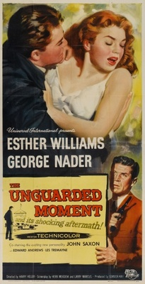 The Unguarded Moment movie poster (1956) poster MOV_3537e5ad