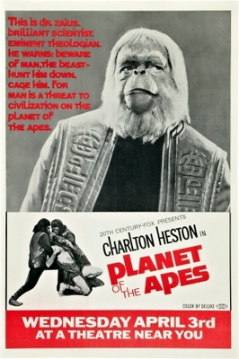 Planet of the Apes movie poster (1968) poster MOV_35407bc6