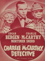 Charlie McCarthy, Detective movie poster (1939) picture MOV_3543200c