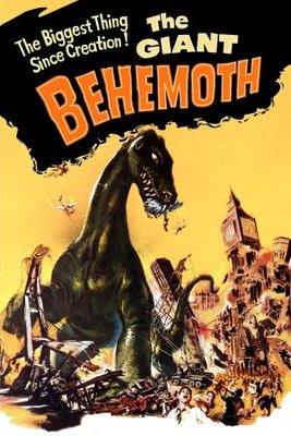 Behemoth, the Sea Monster movie poster (1959) poster MOV_354483be
