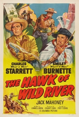 The Hawk of Wild River movie poster (1952) poster MOV_3550a024