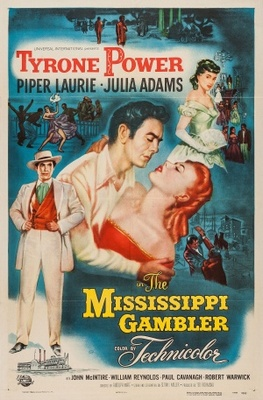 The Mississippi Gambler movie poster (1953) poster MOV_3553093b
