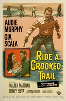 Ride a Crooked Trail movie poster (1958) picture MOV_35569573