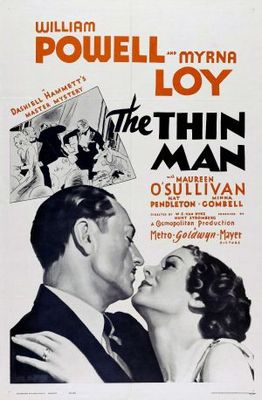 The Thin Man movie poster (1934) poster MOV_355c78cf