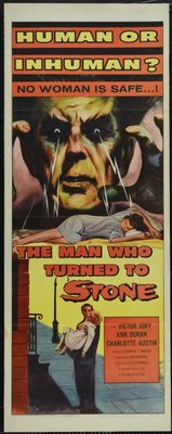 The Man Who Turned to Stone movie poster (1957) poster MOV_35717d5a
