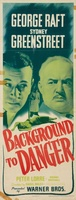 Background to Danger movie poster (1943) picture MOV_35955f34