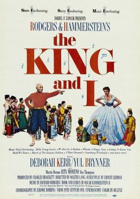 The King and I movie poster (1956) poster MOV_35a90af2
