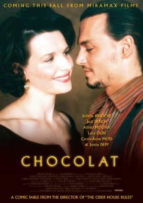 Chocolat movie poster (2000) poster MOV_35c0a026