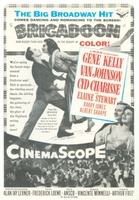 Brigadoon movie poster (1954) picture MOV_35c83574