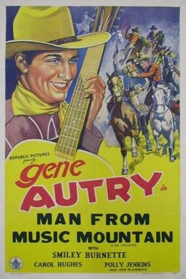 Man from Music Mountain movie poster (1938) poster MOV_35cccbee
