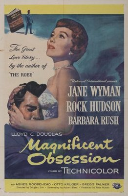 Magnificent Obsession movie poster (1954) poster MOV_35ce4d2c