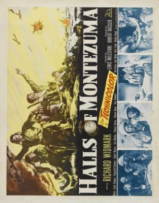 Halls of Montezuma movie poster (1950) poster MOV_35f38bad