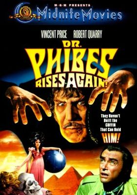Dr. Phibes Rises Again movie poster (1972) poster MOV_35ff2a12