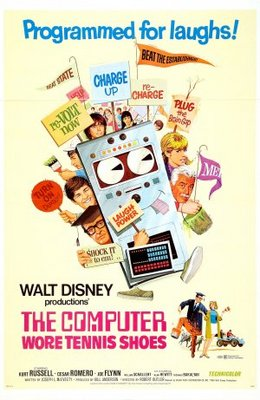 The Computer Wore Tennis Shoes movie poster (1969) poster MOV_36052065