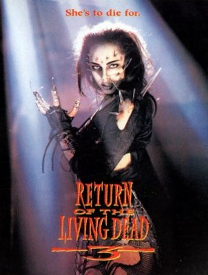Return of the Living Dead III movie poster (1993) poster MOV_361a32fa