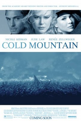 Cold Mountain movie poster (2003) poster MOV_361b921e