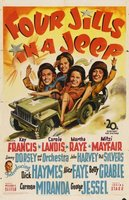 Four Jills in a Jeep movie poster (1944) picture MOV_362b8146