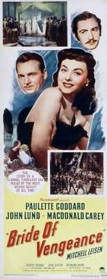 Bride of Vengeance movie poster (1949) poster MOV_3630f217