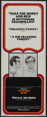 Take the Money and Run movie poster (1969) poster MOV_36330ab3