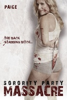 Sorority Party Massacre movie poster (2013) picture MOV_363efff4
