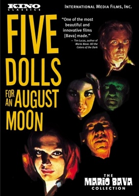 5 bambole per la luna d'agosto movie poster (1970) poster MOV_365a5a9e